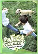 My First Grammar 3 : Teacher's Manual (Papaerback)