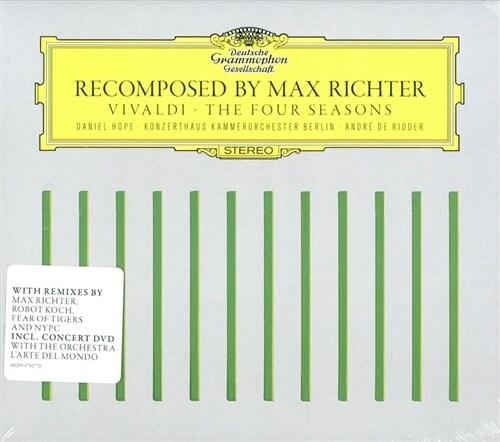 [수입] Vivaldi Recomposed - 막스 리히터가 편곡한 비발디 사계(+ 5 Shadows + 4 Remixes + 2013년 12월 실황공연 DVD)