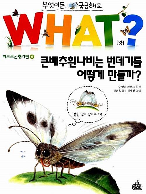 WHAT 왓? 18 큰배추흰나비는 번데기를 어떻게 만들까?