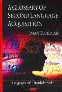 A glossary of second language acquisition