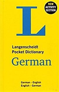 Langenscheidt Pocket Dictionary German (Paperback)