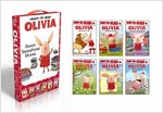 Olivia's Sensational Stories: Olivia Helps Mother Nature/Olivia Goes to the Library/Olivia P;ays Soccer/Olivia Measures Up/Olivia Builds a House/Oli (Boxed Set)