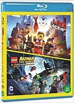 [블루레이] 레고 무비 & 레고 배트맨: 더 무비 - 더블팩 (2disc)