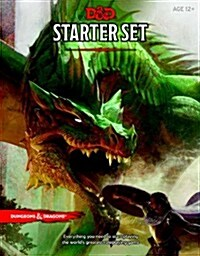 Dungeons & Dragons Starter Set (Six Dice, Five Ready-To-Play D&d Characters with Character Sheets, a Rulebook, and One Adventure): Fantasy Roleplaying (Other)