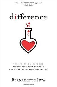 Difference: The One-Page Method for Reimagining Your Business and Reinventing Your Marketing (Paperback)