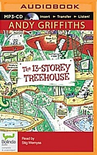 The 13-Storey Treehouse (MP3 CD)