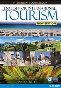 English for International Tourism Intermediate New Edition Coursebook and DVD-ROM Pack (Package, 2 ed)