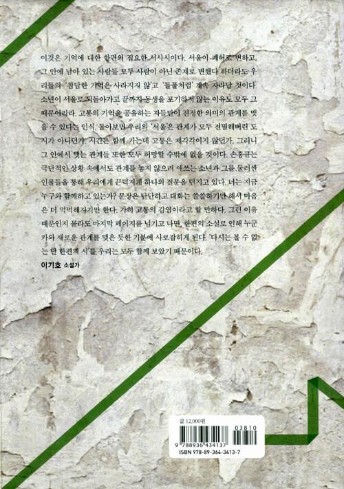 서울 : 손홍규 장편소설