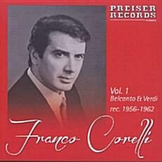 [수입] 프랑코 코렐리 벨칸토 & 베르디 레코딩 1956~1962