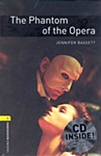 The Oxford Bookworms Library: Stage 1: The Phantom of the Opera Audio CD Pack (Package)