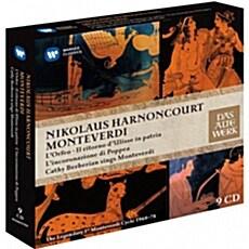 [수입] 니콜라우스 아르농쿠르 - 몬테베르디 사이클 첫녹음 1968-1974 [9CD]