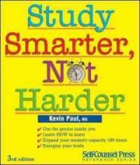 Study smarter, not harder 3rd ed