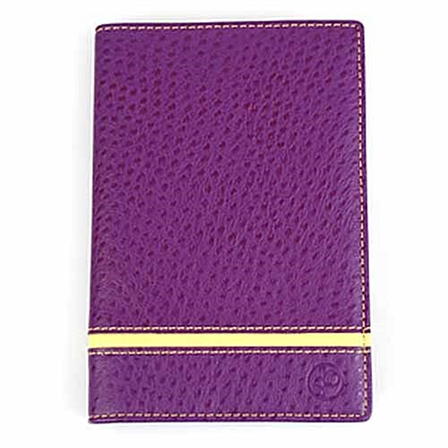 [하이모리][스킴블랙]신형 전자여권 해킹방지 여권지갑(스트라이프 바이올렛)/여권케이스