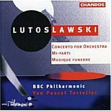 [수입] 비톨트 루토스와프스키 : 관현악을 위한 협주곡