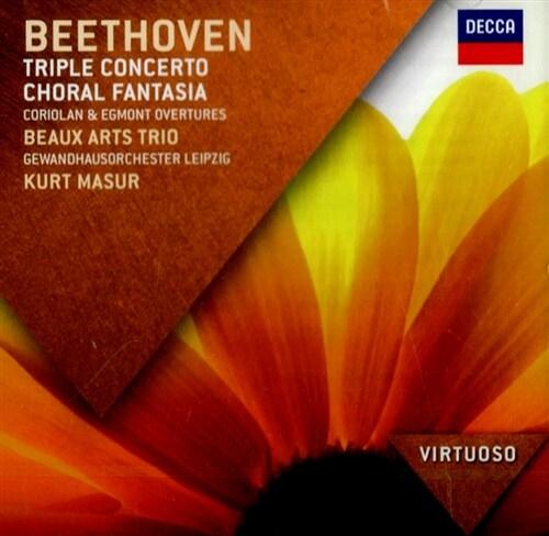 [수입] 베토벤 : 삼중 협주곡, 합창 환상곡, 코리올란 서곡, 에그몬트 서곡