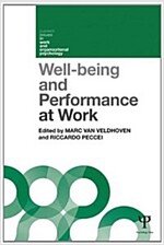 Well-Being and Performance at Work : The Role of Context (Paperback)