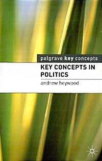 Key Concepts in Politics (Paperback)