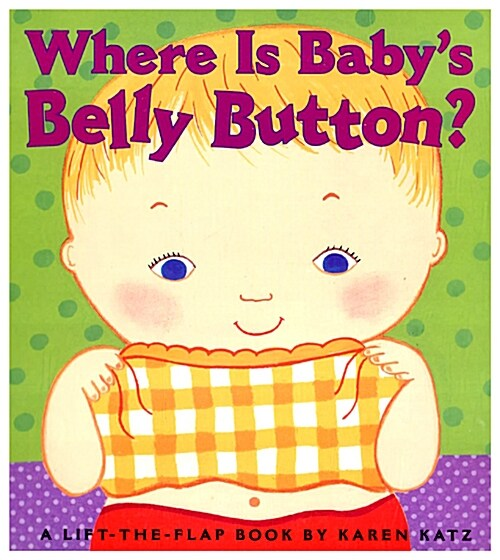 Where Is Babys Belly Button? (Board Books)