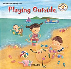 Playing Outside (책 2권 + 테이프 1개)