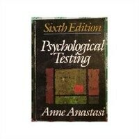 Psychological testing 6th ed