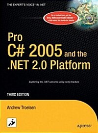 Pro C# 2005 and the .NET 2.0 Platform (Experts Voice) (Hardcover, 3rd)