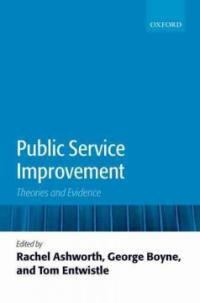Public service improvement : theories and evidence