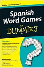 Spanish Word Games for Dummies (Paperback)