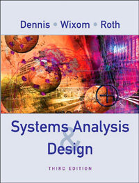 Systems analysis design 3rd ed