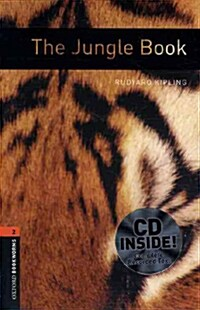 Oxford Bookworms Library: Level 2:: The Jungle Book audio CD pack (Package)