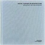 Architect Jef Van Oevelen: Social Content in Architecture (Hardcover)