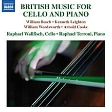 [수입] 첼로와 피아노를 위한 영국음악 (부슈, 레이튼, 워즈워스, 쿠크)