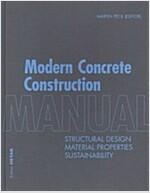 Modern Concrete Construction Manual (Hardcover)