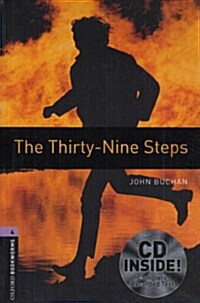 Oxford Bookworms Library: Level 4:: The Thirty-Nine Steps audio CD pack (Package)