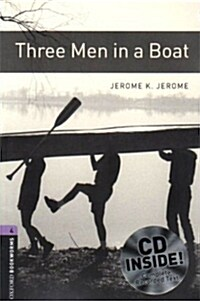 Oxford Bookworms Library: Level 4:: Three Men in a Boat audio CD pack (Package)