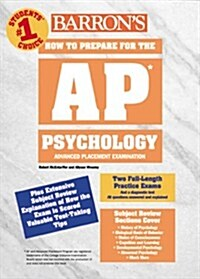 Barrons How to Prepare for the Advanced Placement Exam: AP: Psychology (Barrons AP Psychology Exam) (Paperback, Edition Unstated)