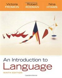 An introduction to language 9th ed