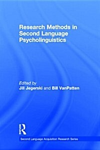 Research Methods in Second Language Psycholinguistics (Hardcover)