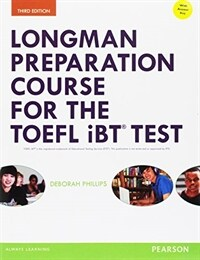 Longman Preparation Course for the TOEFL(R) Ibt Test, with Mylab English and Online Access to MP3 Files and Online Answer Key (Paperback, 3, Revised)