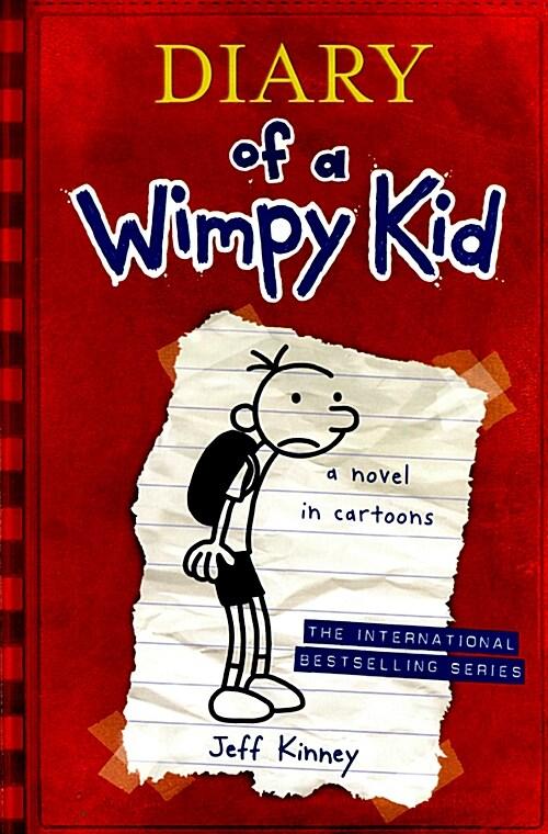Diary of a Wimpy Kid 1 (paperback, 미국판, International)