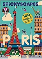 Stickyscapes Paris (Paperback)