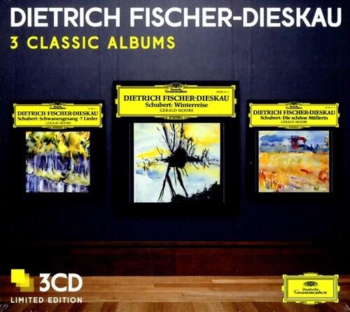 [수입] 3 Classic Albums - 피셔-디스카우 (슈베르트 연가곡) [LP 미니어처 게이트폴드 자켓]