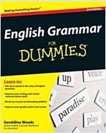 English Grammar for Dummies (Paperback, 2)