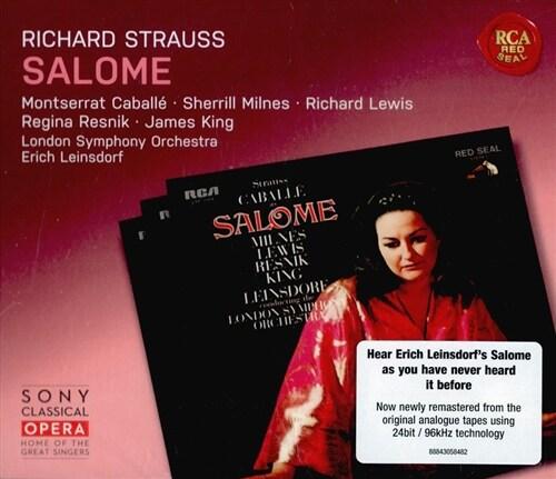 [수입] R.슈트라우스: 살로메 (24bit 96khz Remastered) [2CD]
