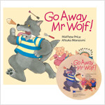 노부영 세이펜 Go Away Mr.Wolf! (Paperback + CD) (Paperback + CD)