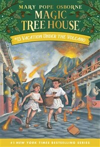 Magic Tree House #13 : Vacation Under the Volcano (Paperback)
