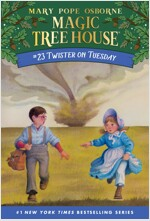Magic Tree House #23 : Twister on Tuesday (Paperback)