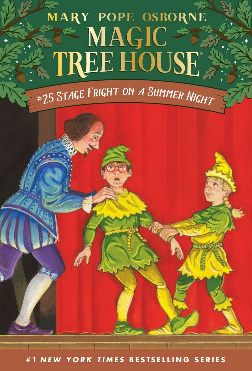 Magic Tree House #25 : Stage Fright on a Summer Night (Paperback)
