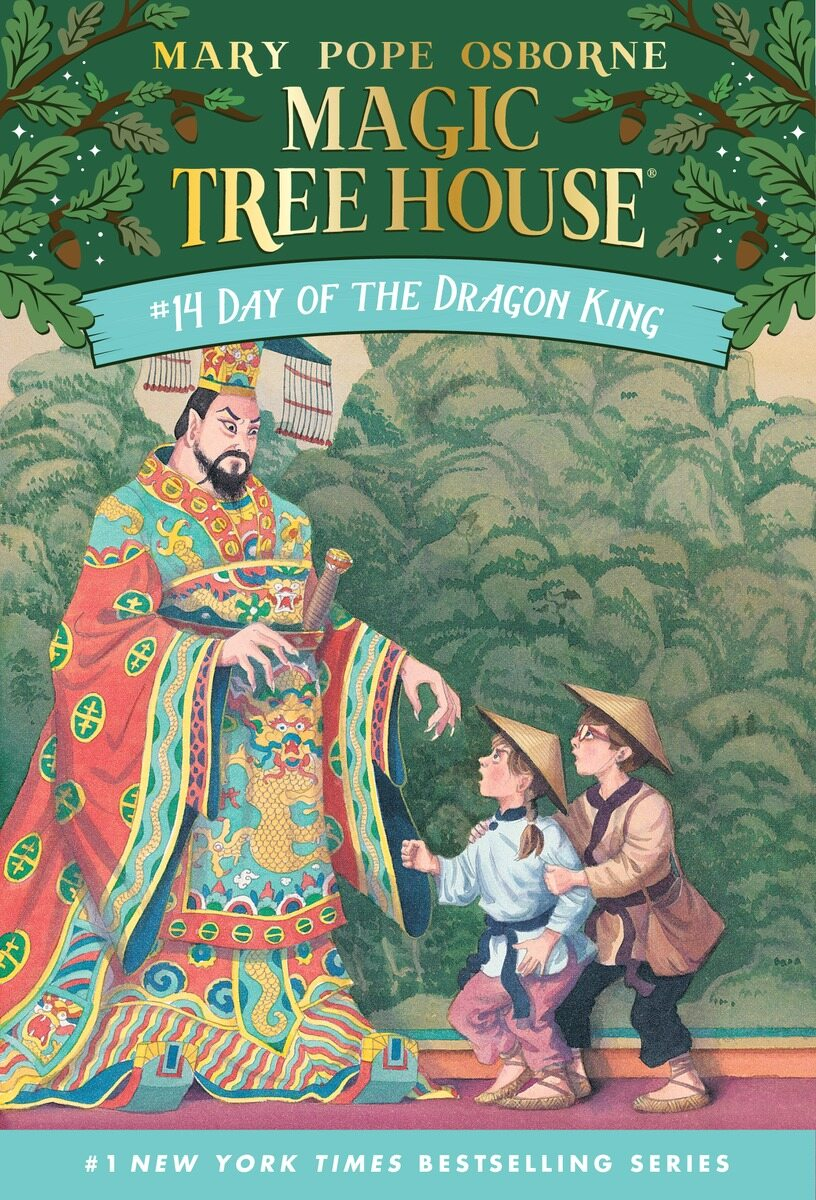 Magic Tree House #14 : Day of the Dragon King (Paperback)