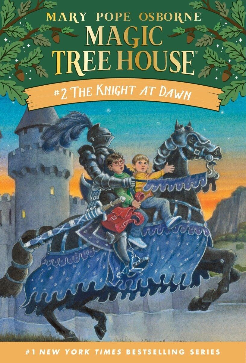 [중고] Magic Tree House #2 : The Knight at Dawn (Paperback)