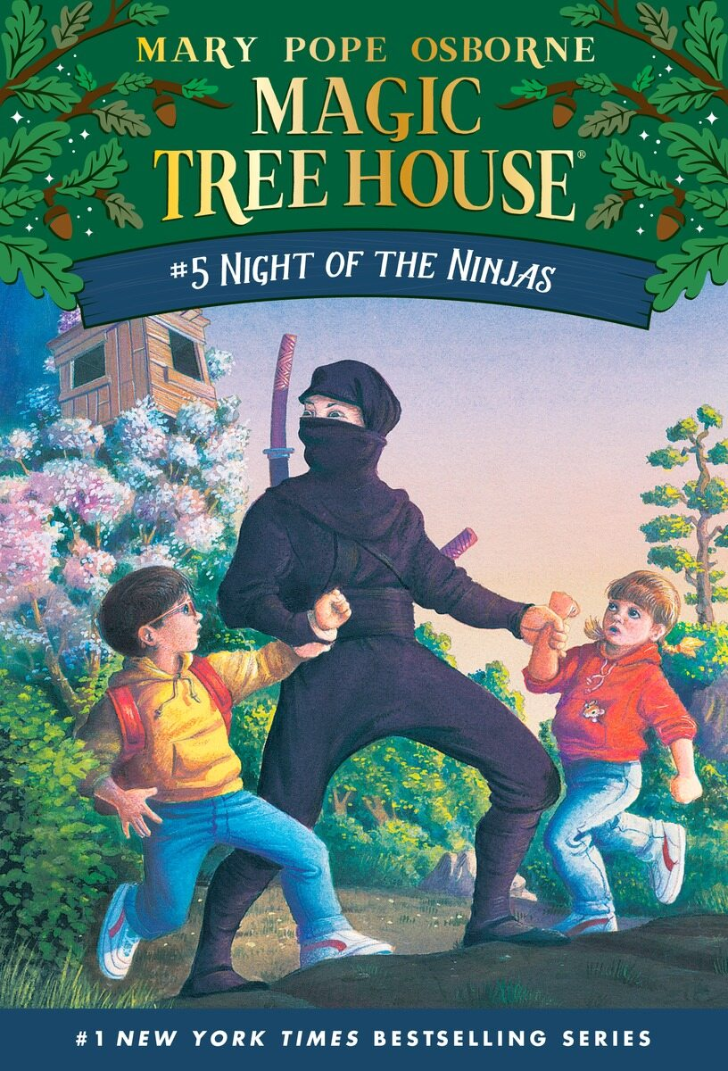 Magic Tree House #5 : Night of the Ninjas (Paperback)